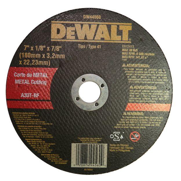 Disco-DW44600-Dewalt