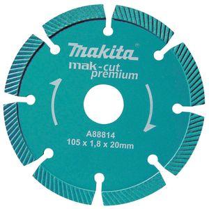 Disco diamantado segmentado para concreto A - 88814 Makita
