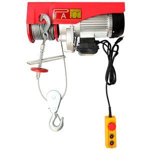 Talha-Eletrica-250-500Kg-220v-30mts-Cabo-de-Aco-PA500-30-ACM-Tools