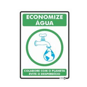 Placa-Sinalizadora-150x200mm-ECONOMIZE-AGUA-Ref-PS638-ENCARTALE
