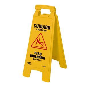 Placa-de-Sinalizacao-270x650mm-Cavalete-Dobravel-CUIDADO-PISO-MOLHADO-Ref-CD01-ENCARTALE