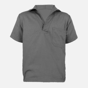 Camisa-Manga-Curta-Gola-Italiana-Cinza-Tam-G-Ref-168CZ-JAKX-