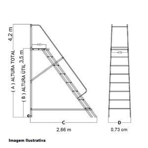 Escada-Plataforma-em-Aluminio-35-metros-13-degraus-Ref-EPLA350-ZZCOM