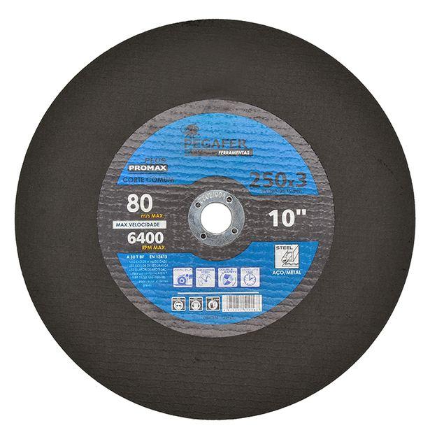 Disco-de-Corte-250x3x19mm-Corte-Comun-Ref-PF25030-PEGATEC