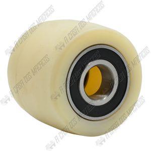 Roda-Nylon-Dianteira-com-Rolamento-Duplo-70x60mm-Paleteira-TF2.2-ACM-TOOLS
