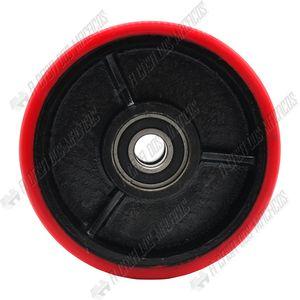 Roda-Direcional-Poliuretano-com-Rolamento-Duplo-160x50mm-Paleteira-TF2.2-ACM-TOOLS
