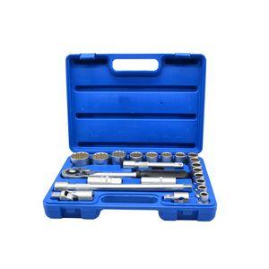 Kit-Soquetes-10-22mm-Estriado-22pcs-Ref-1429-BREMEN