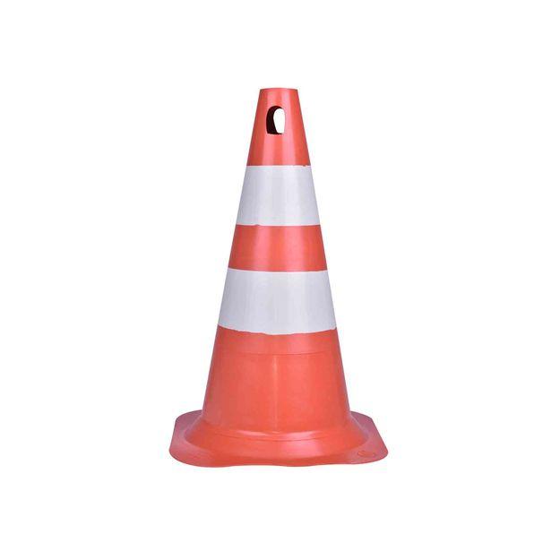 Cone-de-Sinalizacao-Laranja--Branco-50cm-Ref-70001283-PLASTCOR