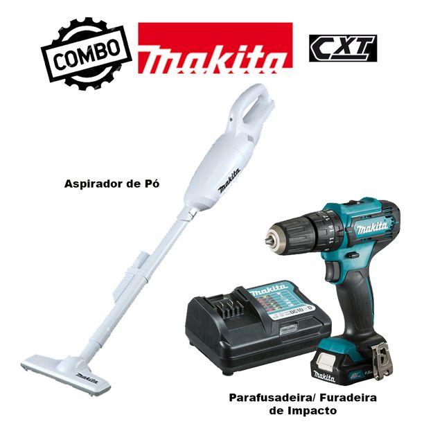 Kit-Parafusadeira--Furadeira-de-Impacto-HP333DYX3---Aspirador-de-Po-CL106FDZW-MAKITA-