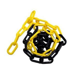 Corrente-Plastica-Preta-e-Amarela-Pequena-o-metro-PLASTCOR-