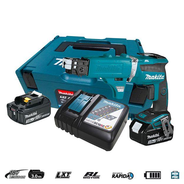 Parafusadeira-para-Gesso-a-Bateria-18V-DFS452FJX2-MAKITA