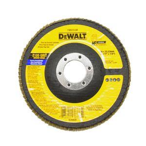 Disco-Flap-de-4.1-2--Pol.-com-Grao-120-DW8310-AR-Dewalt-