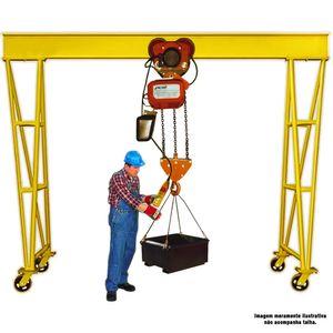 Portico-Movel-2-Ton-Roda-Poliuretano-PCM-2-CLIMBER