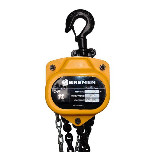 Talha-Manual-1-Ton-x-3-metros-Ref-8808-BREMEN