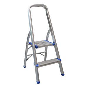 Escada-Aluminio-para-uso-Domestico-2-degraus-Capacidade-150Kg-BREMEN