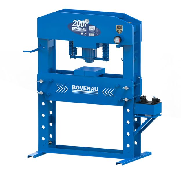 Prensa-Hidraulica-Manual-200Ton-P200000-BOVENAU
