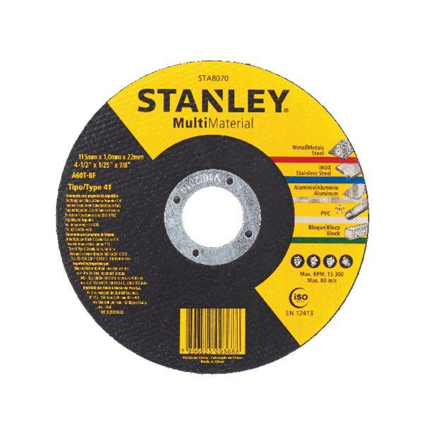 Disco-de-Corte-115x-10x-2222mm-Ref-STA8070-STANLEY