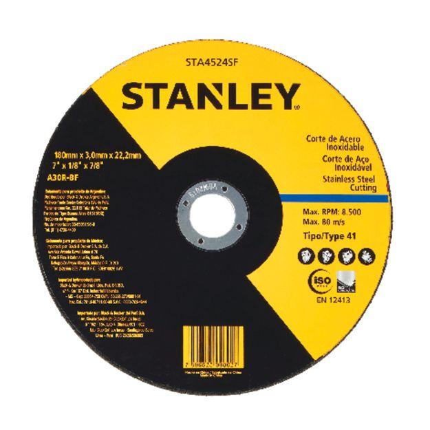 Disco-de-Corte-180x-30x-2222mm-Ref-STA4524SF-STANLEY