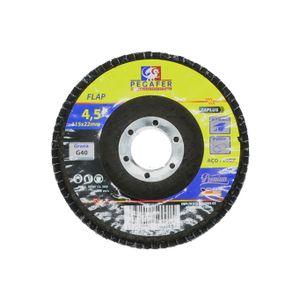 Disco-Flap-Fibra-Grana-40-115mm-Ref-115B40-PEGATEC