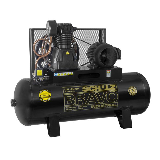 Compressor-de-Ar-CSL-40BR-250L-10HP-2-Polos-Trifasico-220-380v-BRAVO-SCHULZ-