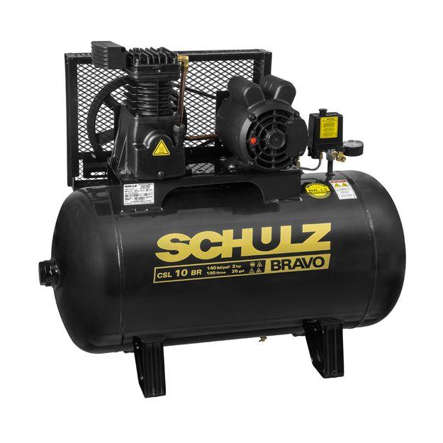 Compressor-de-Ar-CSL10BR-100L-2HP-2-Polos-220-380v-BRAVO-SCHULZ