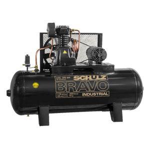 Compressor-de-Ar-CSL-25BR-250L-5HP-2-polos-Trifasico-220-380v-SCHULZ