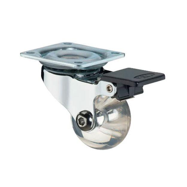 Rodizio-Giratorio-35mm-Silicone-35mm-com-Freio-Ref-T1503-HAGRA