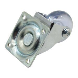 Rodizio-Giratorio-35mm-Silicone-sem-Freio-Ref-T1502-HAGRA