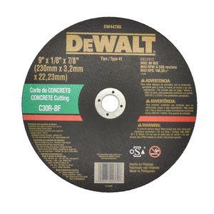 Disco-Corte-230x32x222-Concreto-C30rbf-Dw44780-Dewalt