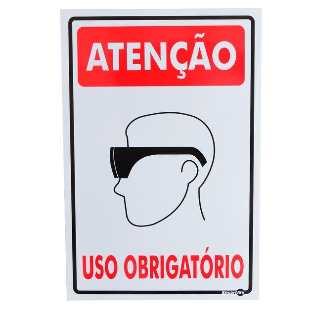 Placa-Sinalizacao-Obrigatorio-Oculos-de-Seguranca-PS81-ENCARTALE