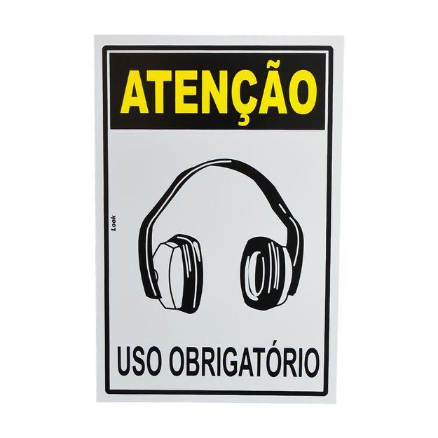 Placa-de-Sinalizacao-ATENCAO-USO-OBRIGATORIO-ABAFADOR-DE-RUIDOS-20706-TRY-