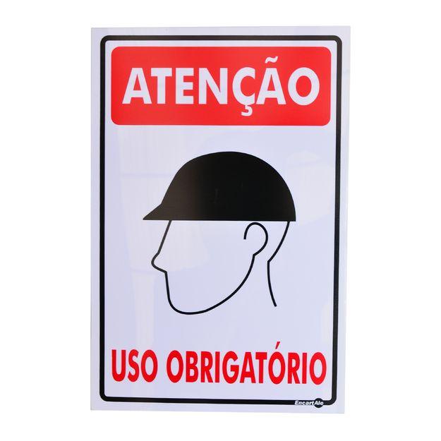 Placa-de-Sinalizacao-USO-OBRIGATORIO-DE-CAPACETE-PS84-ENCARTALE
