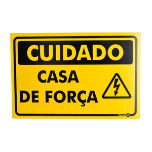 Placa-de-Sinalizacao-CUIDADO-CASA-DE-FORCA-PS423-ENCARTALE-