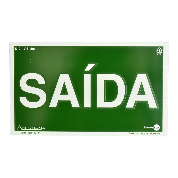 Placa-de-Sinalizacao-SAIDA-PAF395-ENCARTALE