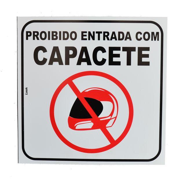 Placa-de-Sinalizacao-PROIBIDO-ENTRADA-COM-CAPACETE-21969-TRY