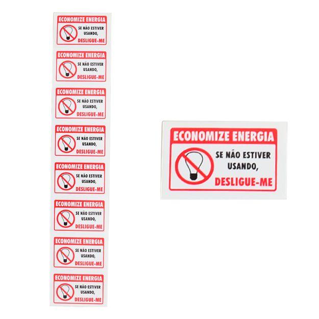 Placa-de-Sinalizacao-ECONOMIZE-ENERGIA-com-8-Unidades-Ref-106-ENCARTALE