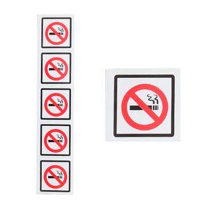 Placa-de-Sinalizacao-PROIBIDO-FUMAR-com-5-Unidades-Ref-141-ENCARTALE-