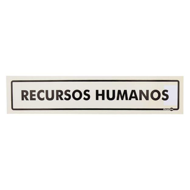 Placa-de-Sinalizacao-RECUSRSOS-HUMANOS-Ref-PS211-ENCARTALE