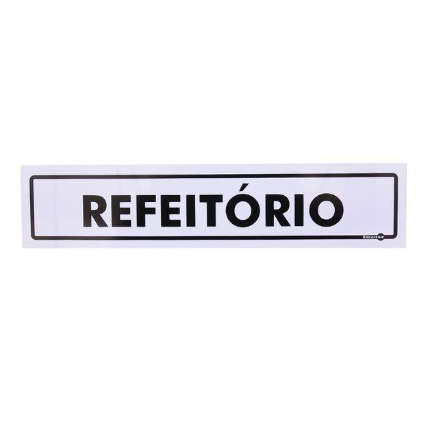 Placa-de-Sinalizacao-REFEITORIO-Ref-PS37-ENCARTALE
