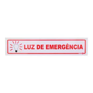 Placa-de-Sinalizacao-LUZ-DE-EMERGENCIA-Ref-PS-120-ENCARTALE-