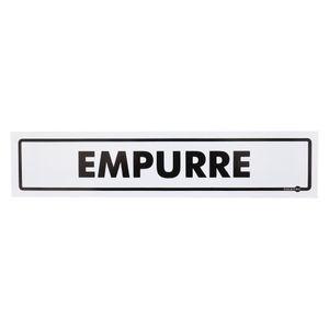 Placa-de-Sinalizacao-EMPURRE-Ref-PS-60-ENCARTALE