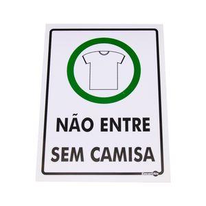 Placa-de-Sinalizacao-NAO-ENTRE-SEM-CAMISA-Ref-PS381-ENCARTALE