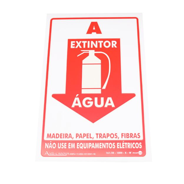 Placa-de-Sinalizacao-EXTINTOR-AGUA-Ref-PAF301-ENCARTALE