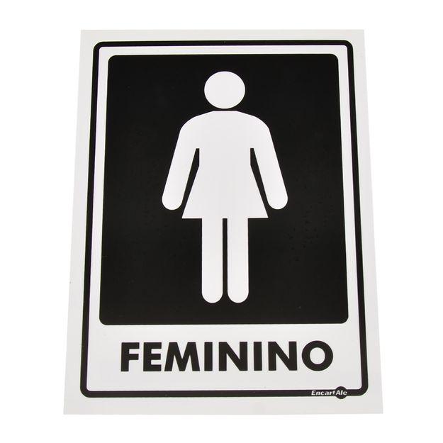 Placa-de-Sinalizacao-FEMININO-Ref-PS65-ENCARTALE