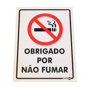 Placa-de-Sinalizacao-OBRIGADO-POR-NAO-FUMAR-Ref-PS-252-ENCARTALE