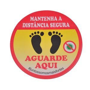 Adesivo-de-Sinalizacao-MATENHA-A-DISTANCIA-SEGURA-AGUARDE-AQUI-Ref-AV84-ENCARTALE
