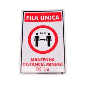Adesivo-de-Sinalizacao-FILA-UNICA-MANTENHA-DISTANCIA-MINIMA-DE-1M-Ref-PS-AV89-ENCARTALE