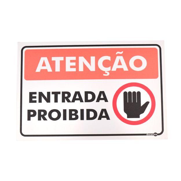 Placa-de-Sinalizacao-ATENCAO-ENTRADA-PROIBIDA-Ref-PR2002-ENCARTALE