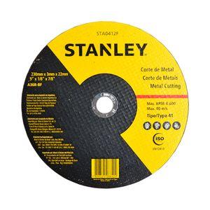 Disco-de-Corte-230x-3x-22mm-Metal-Ref-STA0412F-STANLEY