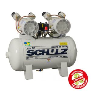 Compressor-de-Ar-Odonto-Isento-de-Oleo-220v-Ref-MSV12-100-SCHULZ-